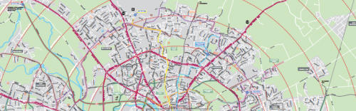 Norwich cycle map
